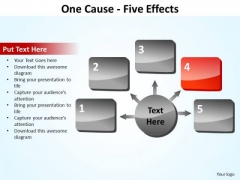 PowerPoint Slide Designs Process Five Effects Ppt Template