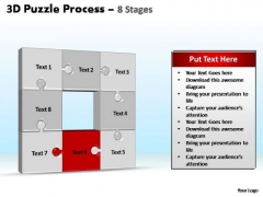 PowerPoint Slide Designs Process Puzzle Process Ppt Template