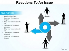 PowerPoint Slide Designs Sales Reaction To An Issue Ppt Templates