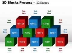 PowerPoint Slide Designs Strategy Blocks Process Ppt Design
