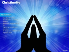 PowerPoint Slide Designs Strategy Christianity Ppt Template