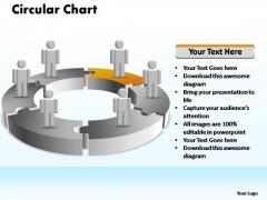 PowerPoint Slide Designs Strategy Circular Ppt Slides