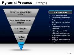 PowerPoint Slide Designs Strategy Pyramid Process Ppt Design Slides