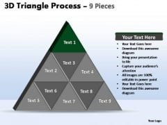 PowerPoint Slide Designs Strategy Triangle Process Ppt Process