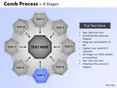 PowerPoint Slide Designs Strategy Wheel And Spoke Process Ppt Slides