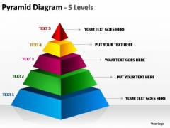 PowerPoint Slide Designs Success Cone Diagram Ppt Themes