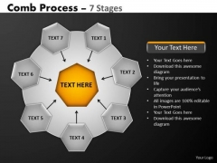PowerPoint Slide Designs Success Hub And Spokes Process Ppt Template