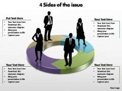 PowerPoint Slide Designs Success Sides Of The Issue Ppt Design