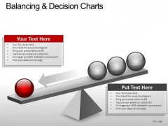 PowerPoint Slide Diagram Balancing Decision Ppt Slide