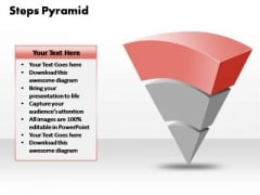 PowerPoint Slide Diagram Business 3 Steps Pyramid Ppt Theme