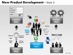 PowerPoint Slide Download Product Development Ppt Layout