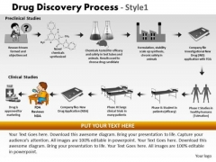 PowerPoint Slide Drug Discovery Process Diagram Ppt Layouts