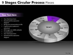 PowerPoint Slide Education Circular Ppt Process