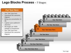 PowerPoint Slide Education Lego Blocks Ppt Slide