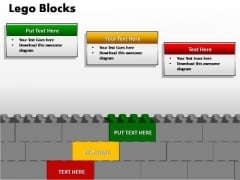 PowerPoint Slide Education Lego Ppt Template