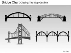 PowerPoint Slide Executive Growth Bridges Chart Ppt Process