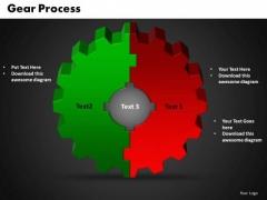PowerPoint Slide Gear Success Ppt Template
