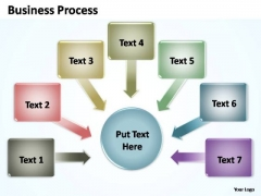 PowerPoint Slide Global Business Process Ppt Themes