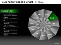 PowerPoint Slide Global Pie Chart Ppt Process