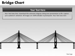 PowerPoint Slide Graphic Bridge Chart Ppt Process