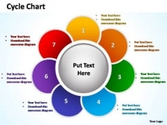 PowerPoint Slide Graphic Cycle Chart Ppt Design