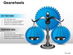PowerPoint Slide Graphic Gearwheels Ppt Design