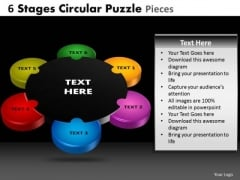 PowerPoint Slide Growth Circular Puzzle Ppt Layouts