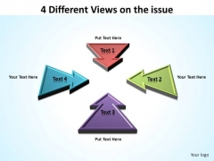 PowerPoint Slide Growth Different Views Ppt Themes