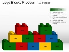 PowerPoint Slide Growth Lego Blocks Ppt Theme
