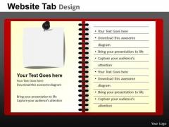 PowerPoint Slide Growth Website Ppt Process