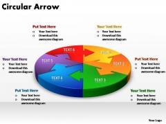 PowerPoint Slide Image Circular Arrow Ppt Design