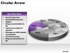 PowerPoint Slide Image Circular Arrow Ppt Slides