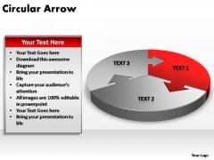PowerPoint Slide Image Circular Arrow Ppt Template