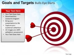 PowerPoint Slide Image Goals And Targets Ppt Layout