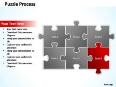 PowerPoint Slide Layout Chart Puzzle Ppt Theme