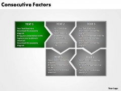 PowerPoint Slide Layout Education Consecutive Factors Ppt Slides