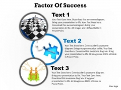 PowerPoint Slide Layout Global Factors Of Success Ppt Slides