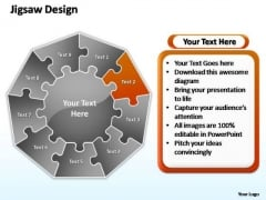 PowerPoint Slide Layout Global Jigsaw Format Ppt Themes