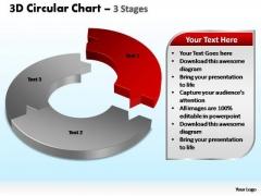 PowerPoint Slide Leadership Circular Chart Leadership