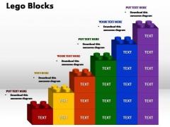 PowerPoint Slide Marketing Lego Ppt Slide