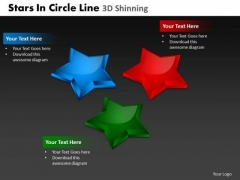 PowerPoint Slide Marketing Stars In Circle Ppt Layouts