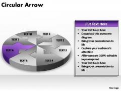 PowerPoint Slide Process Circular Arrow Ppt Design
