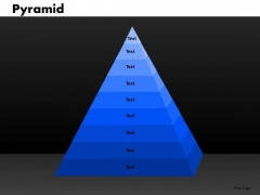 PowerPoint Slide Pyramid Marketing Ppt Slides