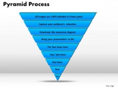 PowerPoint Slide Pyramid Process Diagram Ppt Templates