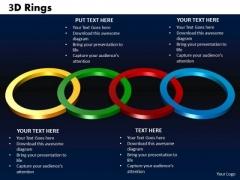 PowerPoint Slide Rings Marketing Ppt Design Slides