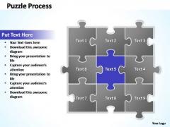 PowerPoint Slide Sales Puzzle Ppt Slides