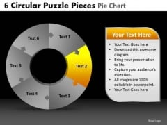 PowerPoint Slide Success Circular Puzzle Ppt Slides