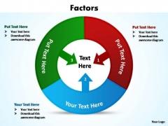 PowerPoint Slide Teamwork Factors Ppt Slide Layout