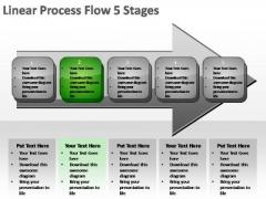 PowerPoint Slide Teamwork Linear Process Ppt Design