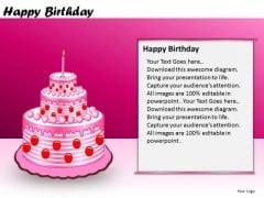 PowerPoint Slidelayout Business Designs Happy Birthday Ppt Layouts